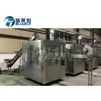 China Sport / Energy Drink Round Bottle Carbonated Drink Filling Machine For Small Capacity wholesale