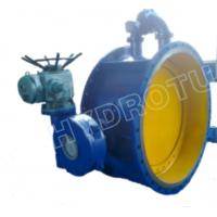 China Dia. 50 - 3000 mm Electric / Manual Flanged Butterfly Valve For Hydropower Equipment wholesale