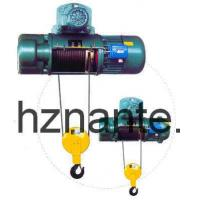China 5 Tons Electric Wire Rope Underhang Hoist CD / MD Lifting Equipment CE Passed wholesale