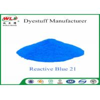 China C I Reactive Blue 21 Cloth Colour Dye Turquoise Blue SE Chemicals In Dip Dyeing wholesale