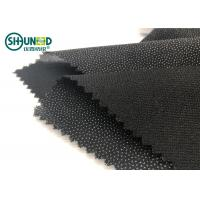China Double Dot Fusible Interlining Fabric For Business Casual Suit Eco Friendly wholesale