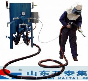 China Coming with sandblast cloth:Abrasive Blasting Chamber with sandblasting cabinet wholesale