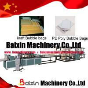 China Kraft Bubble Mailer Bag Making Machine wholesale
