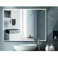 China Hospitality Lighted Touch Screen Bathroom Mirror With Defogger Function wholesale