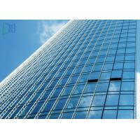 China Reflective Glass Aluminium Glass Curtain Wall For Commercial Building ISO 9001 Certificate wholesale