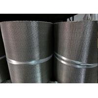 China Long Security Wire Mesh Belt , Stainless Steel Flat Wire Conveyor Belt wholesale