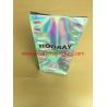 China Fruit And Snack Storage Stand Up Foil Ziplock Bags Sliver Laser Film Hologram Heat Sealed wholesale