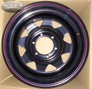 China Wholesale China 4x4 accessories 5x114.3 offroad steel wheel rim rims 4x4 on sale
