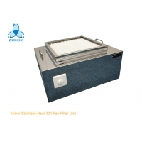 China Small Mirror Stainless Steel 304 HEPA Filter Unit With Motor wholesale
