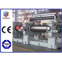 """China Customized Rubber Mixer Machine , Rubber Processing Machines 18"""" Roller Working Diameter wholesale"""