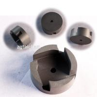 China Hot Pressing Cemented Carbide Nozzle High Hardness With Grit Hole Saw Blade wholesale