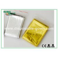 Buy cheap Customized Silver Emergency Thermal Blanket / Waterproof Emergency Foil Blanket from wholesalers