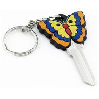 China 3D Butterfly Design Custom House Key Blanks For Kwikset And Schlage Locks on sale