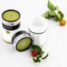 China Matt lamination Biodegradable Printed Paper Tube Tea Packaging , gift tube box wholesale