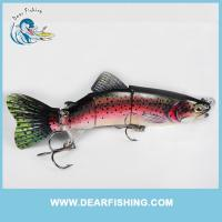 China high quality fishing lure most durable swimbait metal jointed fishing lures wholesale