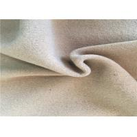 60% Warm Wool Woven Fabric , Washable Wool Fabric For Scarves