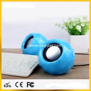 China Diamond design 2.0 USB mini Speaker wholesale