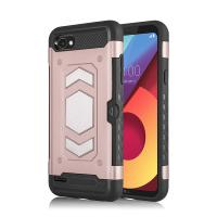 China Full - Body Rugged Smartphone Protective Case For LG Q6 Back Color on sale