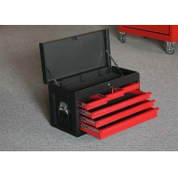 China 26 Inch 6 Drawers Red Color Metal Storage Top Tool Chests Lockable wholesale