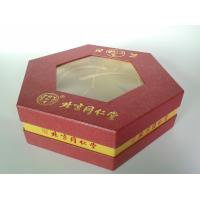 China Hexagon Shape Personalized Rigid Gift Boxes, Luxury Food Packaging Box For Festival Gift on sale