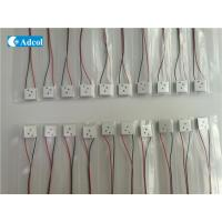 China Mini TEC  Peltier Thermoelectric Modules With 3 Hole wholesale