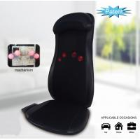 China Triple Action Massage Seat Cushion Heat Shiatsu Rolling Massage With Programmable Remote wholesale
