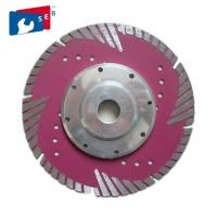 China Cold Press Diamond Saw Tools 50Mn2V Body Material With Sharp And Flange wholesale