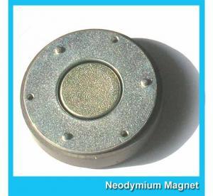 China Small Thin Custom Neodymium Magnets Strong Round Flat Ndfeb Magnet 15mmX1mm wholesale