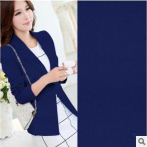 China Dyeing Polyester Spandex Diamond lattice style knitted fabrics Small skirt suit fabric wholesale