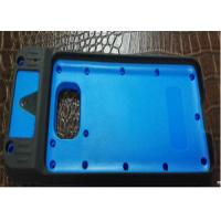China Double Injection Molding TPE Injection Molding Cover / Bottom POS Machine Case wholesale