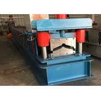 China 3kw Ridge Cap Roll Forming Machine 470 Color Steel Roof Tile Sheet wholesale