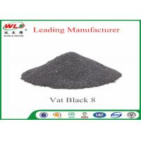China Vat Black 8 Cotton Fabric Dye Environmental Vat Dyes 200 Solubility wholesale