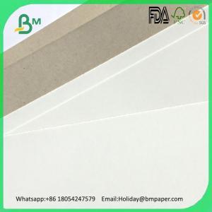 China Coated Duplex Board Grey Back 700 x 1000mm Carton Box Use Grey Chip Board on sale