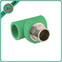 China Brass 1 2 Inch Tee , Polypropylene Male Thread 3 4 Inch Tee ISO9001 Approved wholesale