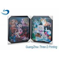 China Decration 3D Printing Lenticular Flip Effect Cute Cat Changing Images wholesale