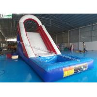 China Back Load US Commercial Inflatable Water Slides For Kids / Children on sale