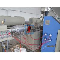 China 50mm - 160mm PVC Plastic Pipe Extrusion Machine With High Efficiency wholesale
