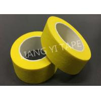 China High Temperatrue Paper Masking Tape For Electronics / Automotive 0.15mm Thickness wholesale