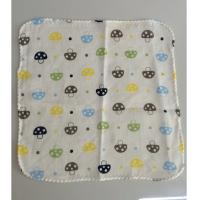 China Colorful gauze 100% cotton terry towel fabric baby bib 11x11 on sale