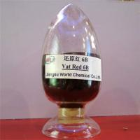 China High fastness environment friendly Indanthrene Dye C I Vat red 13 Vat red 6B dyes wholesale
