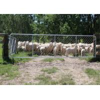 China Hot Galvanized 75X75MM Chain Length Fence Gate For Sheep Yard wholesale