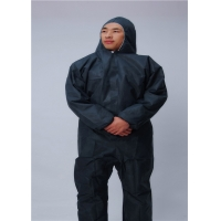 China Disposable 75g/㎡ PP Biosecurity Coverall for Hospital Doctor wholesale