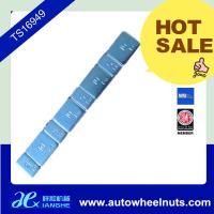 China Stick On FE Adhesive Wheel Balance Weights For Car / Motorbike / Motorcycle wholesale
