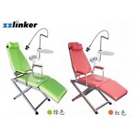 China Colorful Portable Clinic Dental Chair Unit With Battery Spitton wholesale