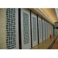 China Interior Suspended Sliding Glass Folding Partition 4 Standard / Parking Track Systems wholesale