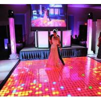 China Interactive Led Dance Floor Hire , P6.25 Led Video Dance Floor Support 3d wholesale
