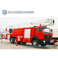 China North - Benz Beiben 6x4 Fire Fighting Vehicle , Right Hand Drive  Fire Rescue Truck wholesale