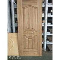 China Natural Teak Interior Door Skins , HDF Moulded Door Skin 3mm / 4mm Thickness wholesale