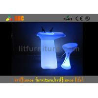 PE LED table / bar Furniture with 16 colors changeable Manufactures