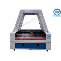 China Professionally Designed CO2 Laser Cutting Engraving Machine With CCD Camera And Conveyor on sale